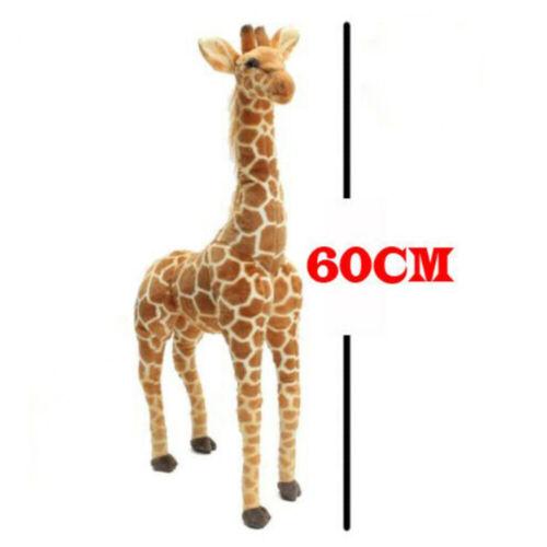 60CM Plush Giraffe Doll Large Stuffed Animals Soft Toys Gift UK Seller HA2X