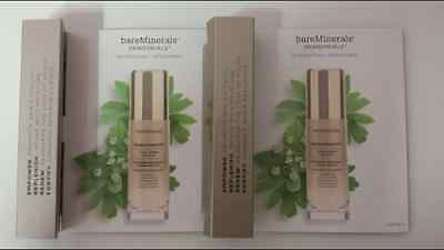 TWO 7.5ml bareMinerals Skinsorials Skinlongevity Vital Power Infusion