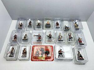 1-32-Japan-Del-Prado-19-verschiedene-schone-Samurai-Figuren-konvolut-19