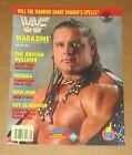 August 1992 WWF Wrestling Magazine WWE British Bulldog on cover Aug 92 Mag