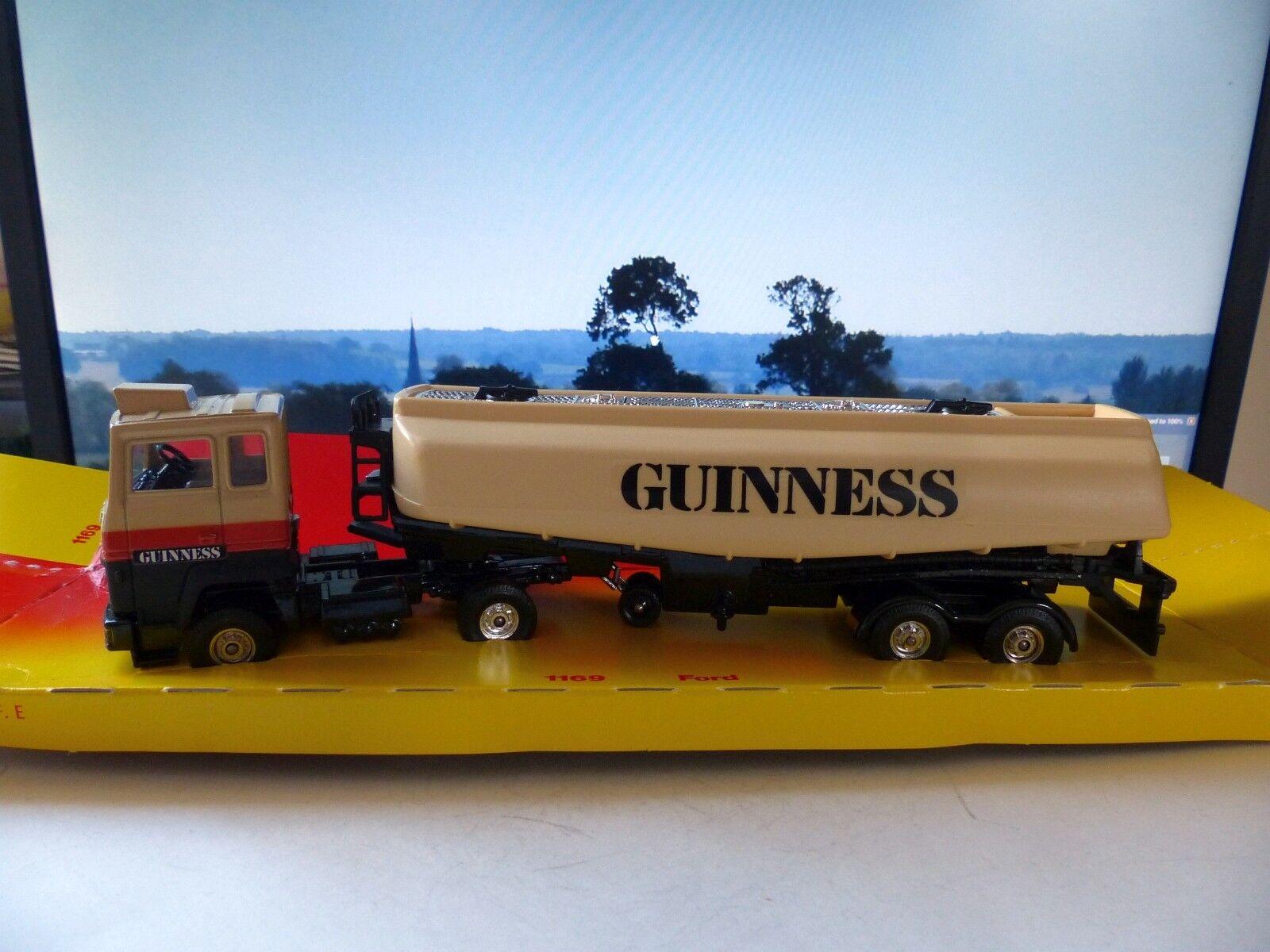 el estilo clásico Corgi Grandes Grandes Grandes Ligas 1169 Ford Guinness petrolero con Caja Original  grandes precios de descuento