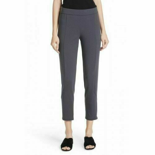 Eileen Fisher Organic Cotton Ankle Zip Pull-On Skinny Pants Größe XS