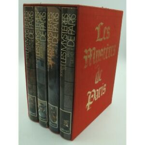 EUGÈNE SUE les mystères de Paris - 4 volumes - illustré - Rayon d'Or 1980 Gallim