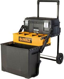 Image Is Loading Rolling Tool Box Organizer Portable Workshop Wheeled Cart