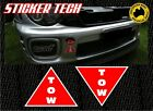 TOW HOOK STICKER DECAL TO SUIT TRACK RACE DRIFT RALLY DRAG SHOW CAR TURBO CAMS