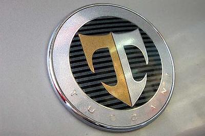 Hyundai Tiburon 01-08 GENUINE OEM TUSCANI 2.7 ELISA TAIL TRUNK Emblem 863142C000