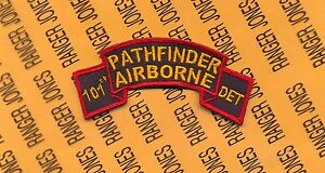 US Army 158th Pathfinder Airborne Detachment Infantry Aviation scroll patch