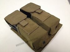 EAGLE INDUSTRIES DOUBLE DOUBLE MAG POUCH COYOTE SFLCS DEVGRU - NO ELASTIC VGC