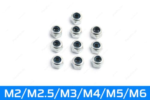 Écrou nylstop M2-M6 arrêter les écrous de serrage écrou auto-bloquant écrou DIN 985