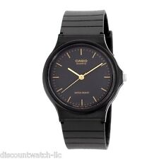 Casio MQ24-1E Men's Resin Band Casual Black Dial Analog Watch NEW