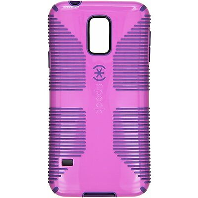 Speck CandyShell Grip Case for Samsung Galaxy S5 Orchid Purple/Grape Purple