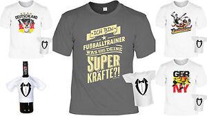 Details Zu Fussballtrainer Shirt Geschenk Trainer Fussball Partyset T Shirt Minishirt