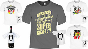 Fussballtrainer Shirt Geschenk Trainer Fußball Partyset T Shirt