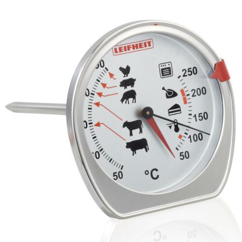 Grillthermometer Fleischthermometer 3096 Leifheit Braten- und Ofenthermometer