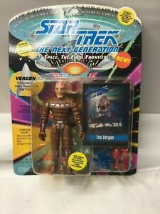 Star-Trek-The-Next-Generation-Vorgon-Alien-Race-1993-Playmates-Stock-No-6061