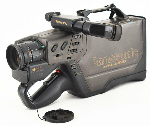 Panasonic Pv 610d Full Size Video Camera Camcorder Acc Vhs Omnimovie Hq For Sale Online Ebay