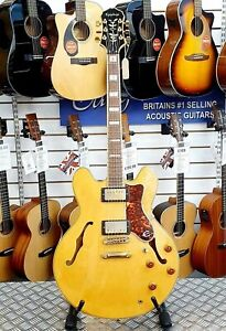 1989-Vintage-Epiphone-Sheraton-Natural-Semi-Hollowbody-335-Style-Electric-Guitar