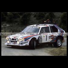#pha.032265 Photo LANCIA DELTA S4 TOIVONEN-CRESTO RALLYE MONTE CARLO 1986 Car