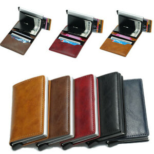 Magische Brieftasche Mini Geldbörse Portemonnaie Leder