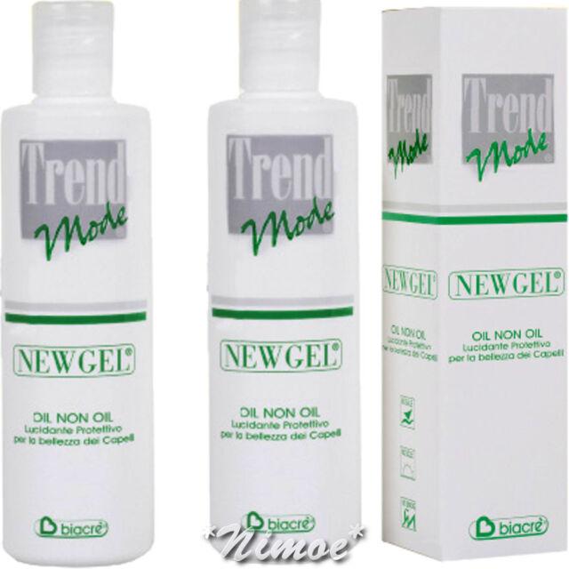 Nuevo Gel Aceite No Aceite Trend Mode 2 X 250ML Biacrè Pulido Protección Brillo