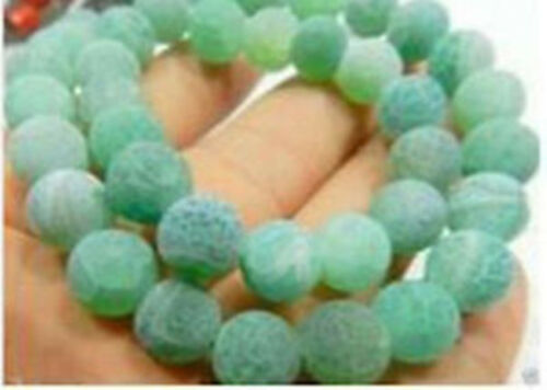 """Dragón Fuego Multicolor Frost sueño Venas Ágata suelta perlas gemas 14/"""" al por mayor"""