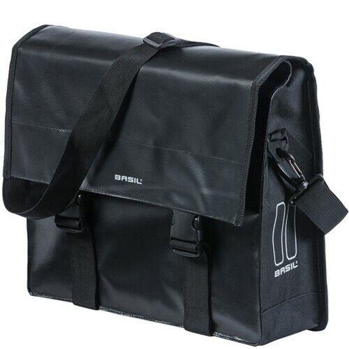17 litros negro Basil bicicleta-bandolera Urban Load Messenger Bag