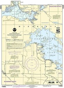 NOAA Chart Western Kabetogama Lake 11th Edition 14995