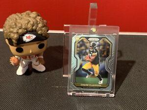 2020 Panini Prizm Chase Claypool Rookie #392 Pittsburgh Steelers!