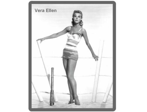 Vera Ellen Posing Vintage Pinup Refrigerator Magnet Man Cave Tool Box