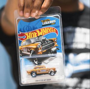 Hot Wheels 2020 Legends Tour '55 Chevy Bel Air Gasser *BUNDLE W// PATCHES+PINS**