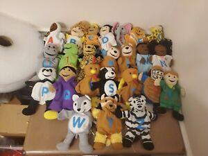 KAPLAN Educational Alphabet Puppet Set -Animals/Jobs - Lot ...