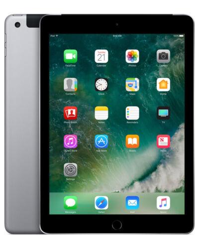 1 von 1 - Apple iPad 5th Generation 32 GB, WLAN + Cellular, 9.7 Zoll - Spacegrau *Wie neu*