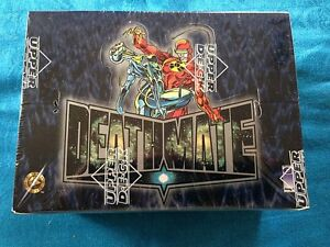 Deathmate-Trading-Card-Box-Upper-Deck-Factory-sealed-Valiant