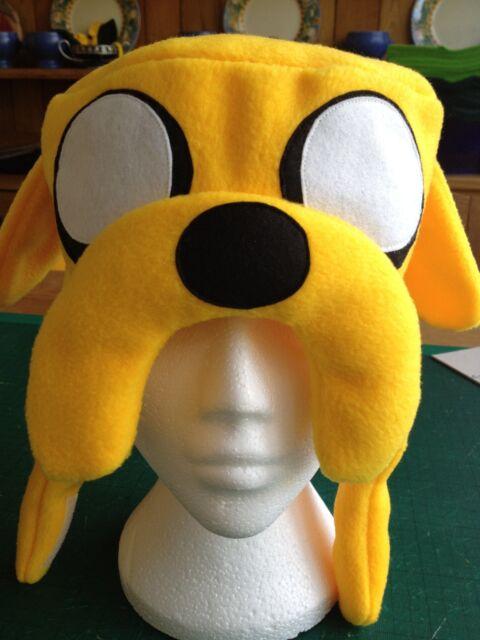 Adventure Time Jake the Dog hat custom-made in fleece