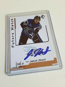 Jakub-Zboril-Custom-Card-Future-Watch-Auto-Signed-In-Person-Rookie-Rc-A