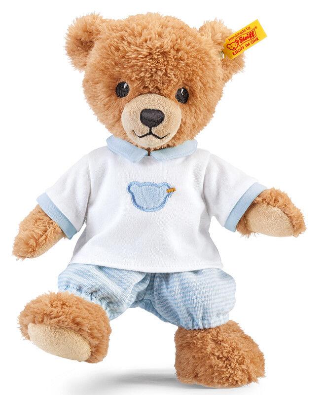 Steiff 'Sleep Well' Blau baby teddy bear in gift box - EAN 239571