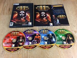 Details about STAR WARS KNIGHTS OF REPUBLIC II - SITH LORDS Pc Cd Rom KOTOR  2 FAST DISPATCH