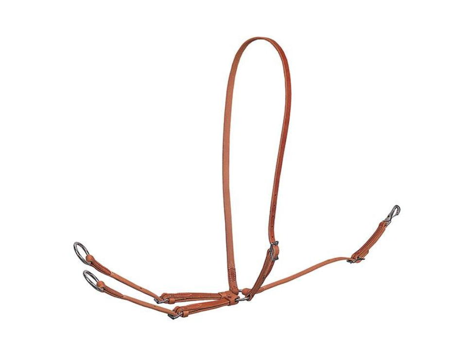 Weaver Harness Leather correrening Martingale nuovo Tack