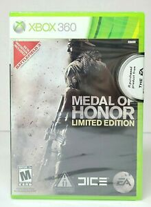 XBOX 360 MEDAL OF HONOR LIMITED EDITION Video Game BRAND NEW FACTORY SEALED