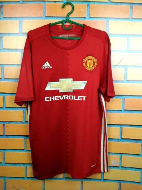 Spain 2016 - 2017 Home Football Shirt Soccer Jersey adidas Size L ...