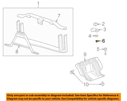 GM OEM-Radiator Core Support Nut 3537772