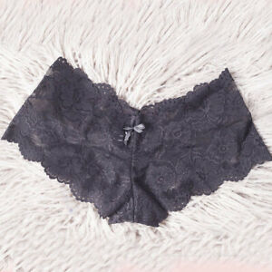 Womens Lingerie Lace Panties Boyshort 1pc