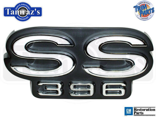 """USA MADE NEW 4501 68 Chevelle /"""" SS 396 /"""" Rear Body Panel Emblem"""