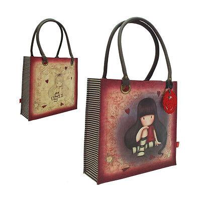 GORJUSS bolsa de hombro comprador eco cuero rojo bolsillo interna cremallera | eBay