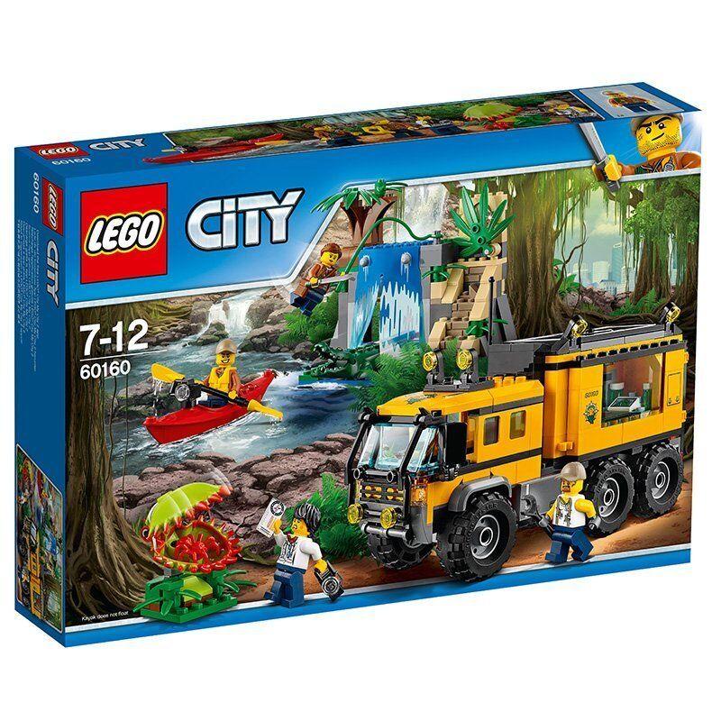 LEGO City 60160 - Jungla: Laboratorio móvil. A partir de 7 años