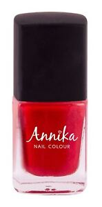 Annika Vernis A Ongles Couleur True Love 11ml Rose Fonce Rouge