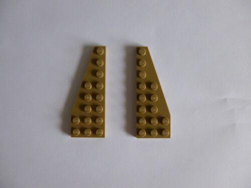 Baukästen & Konstruktion 2 x LEGO® Flügelplatten 50304 links&rechts dunkelbeige wie auf dem Foto