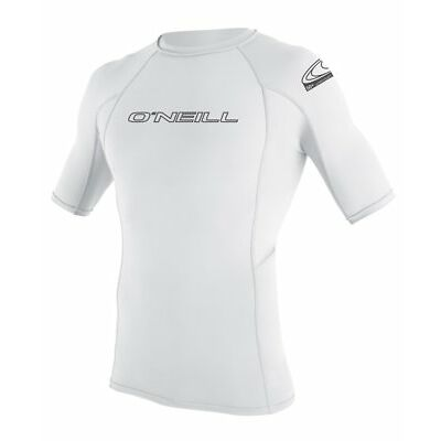 O'Neill Wetsuits Wetsuits UV Sun Protection Mens Basic Skins Short Sleeve Crew M