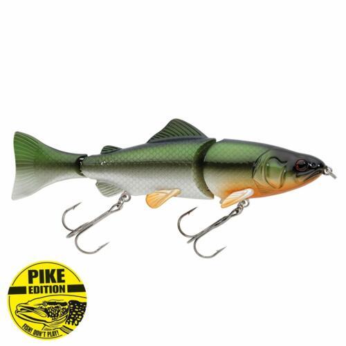 Deadly Target 15cm Weissfisch Jackson Wobbler Profi Hecht angeln Köder