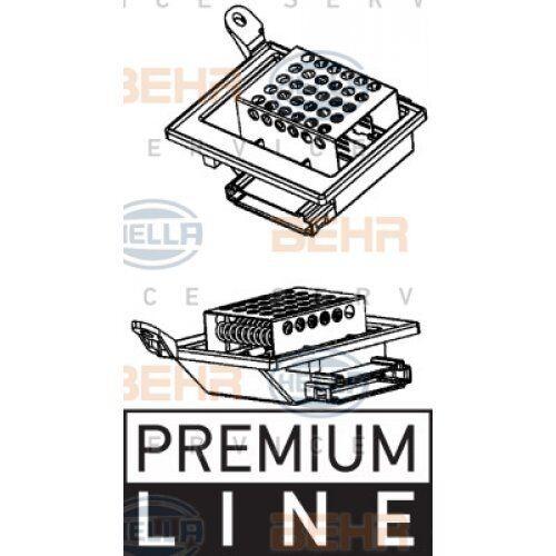 innenraumgebläse Behr Hella Service *** premium line *** fã Hella resistencia